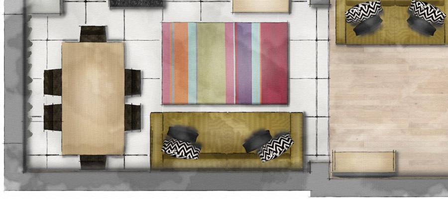 Render Sketchup Floor Plan And Elevation Interior Design on Model Home Floor Plans