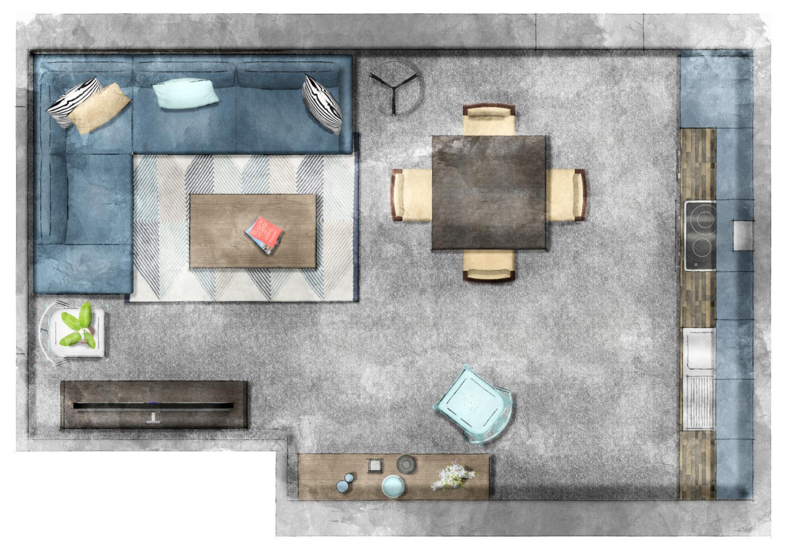 7 rendering floor plans elevations sketchup hub before after
