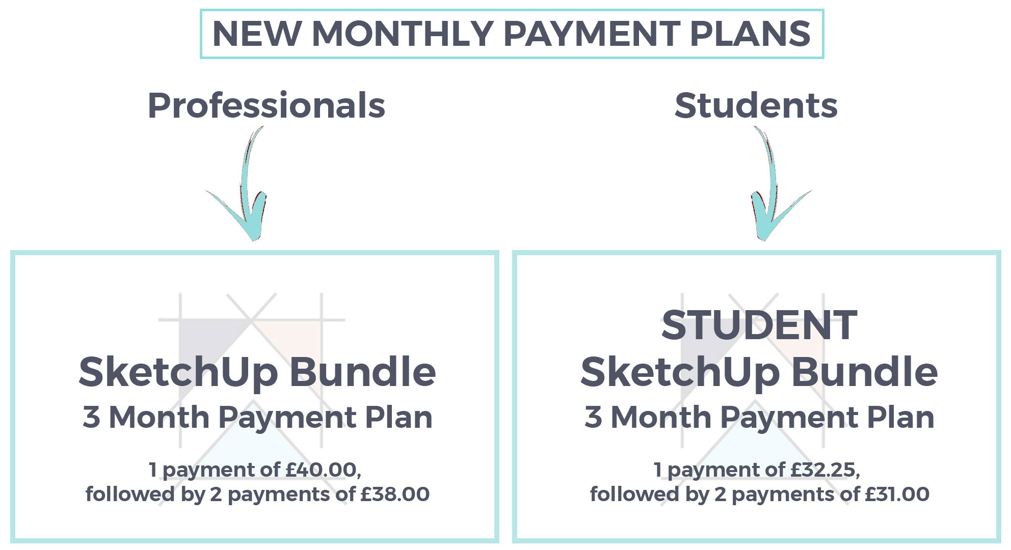 New Payment Plans Sketchup Hub