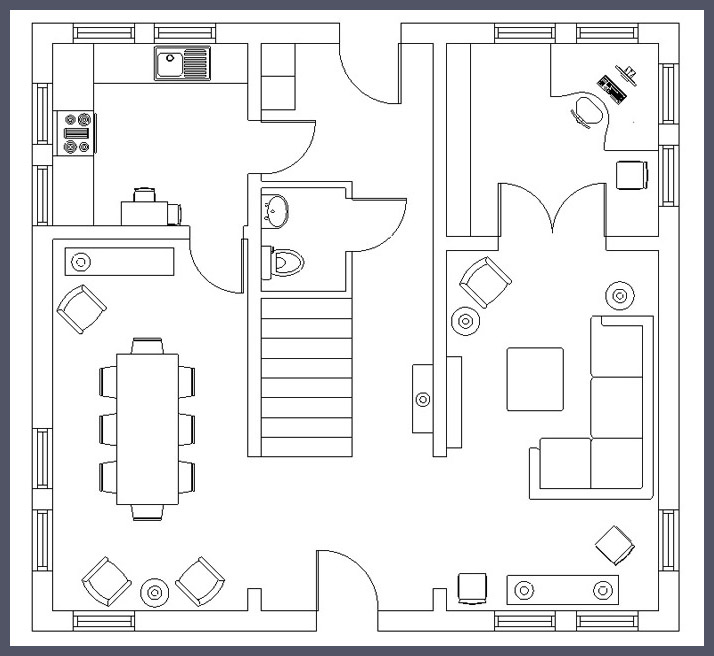 2d house plans sketchup for How to design a floor plan in sketchup