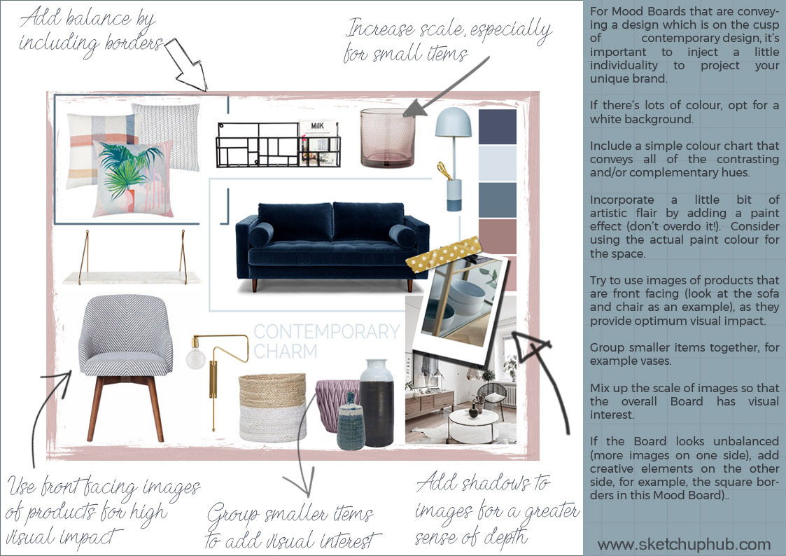 Pro Tips For Creating A Mood Board Sketchup Hub
