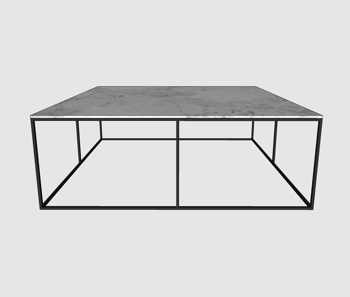 Marble Coffee Table Large: Large Square Marble Coffee Table
