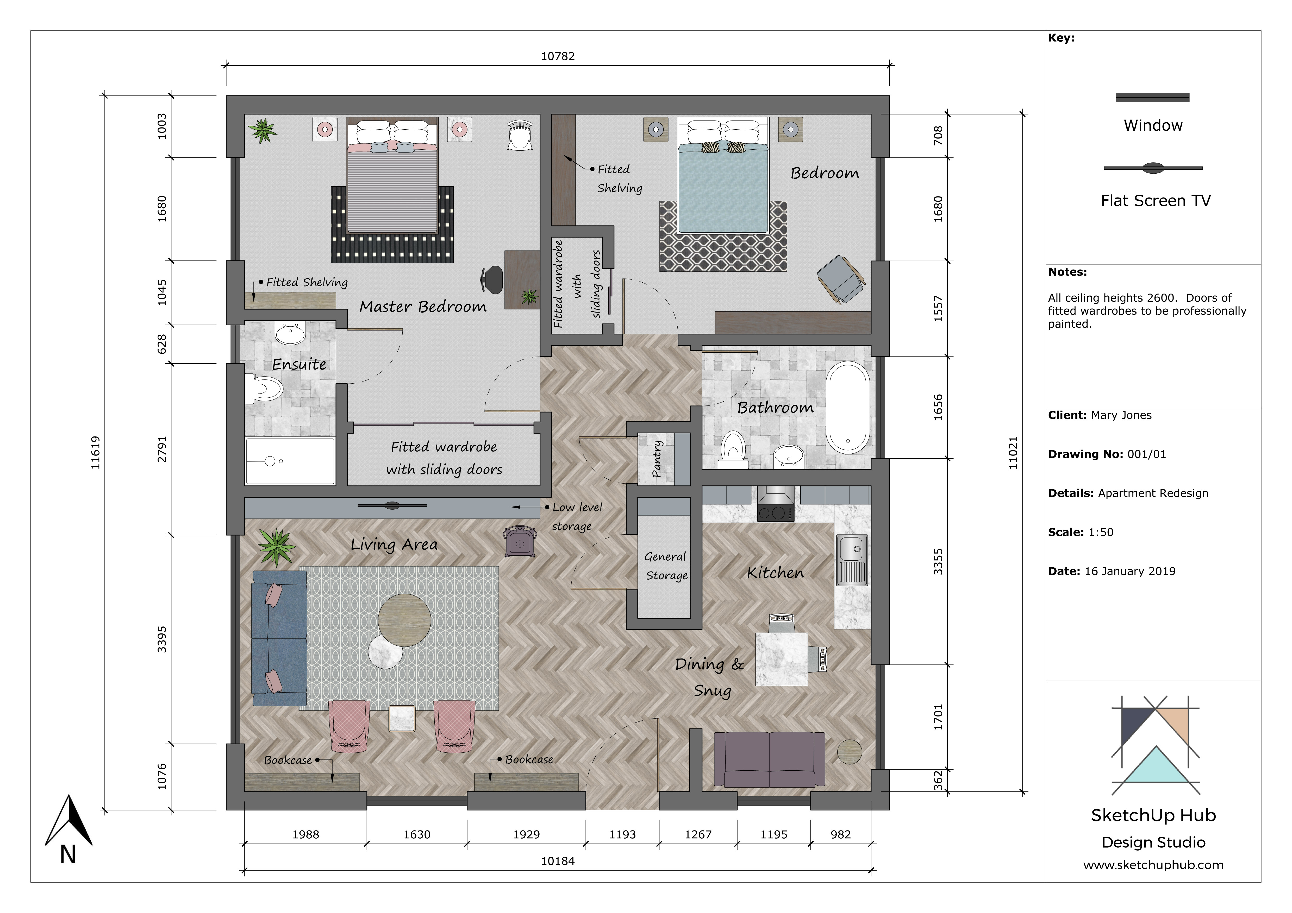 . Expert Tips on How to Create a Professional Floor Plan   SketchUp Hub