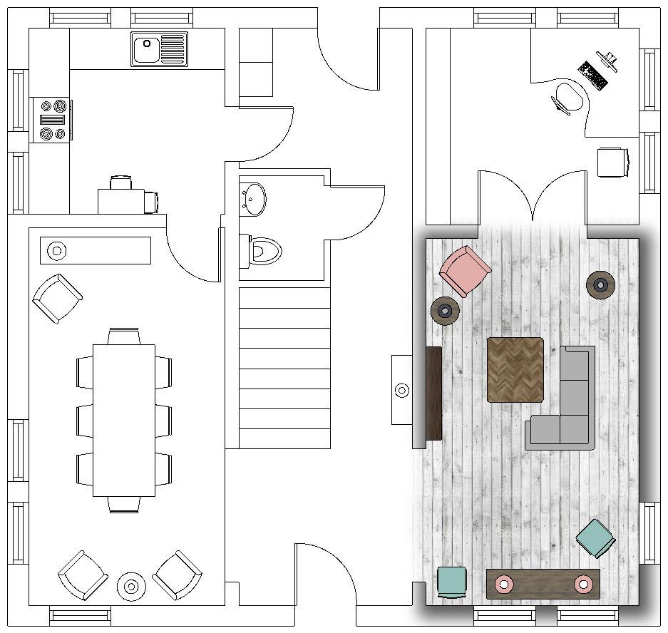Floor Plan – SketchUp